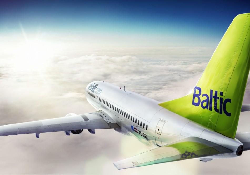"""""""airBaltic"""" giriasi sparčiausiai augančiais klientų srautais Baltijos šalyse"""