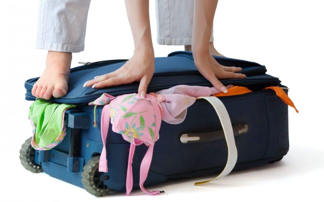 10 naudingų patarimų pakuojantiems lagaminus