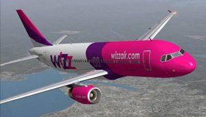 wizzair - skrydžiai