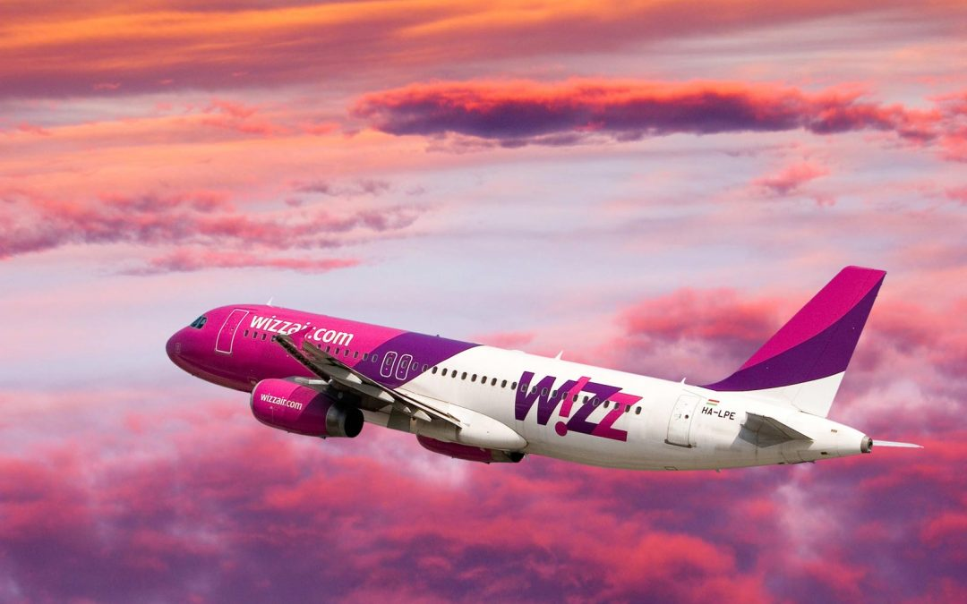 Wizzair skrydžiai į Nicą